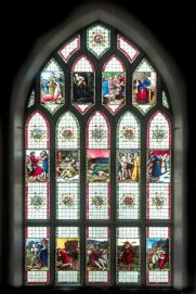 Millais Stained Glass Window