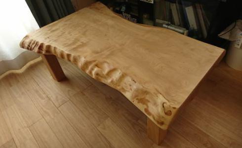 栃の木無垢一枚板