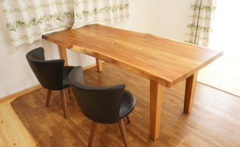 杉一枚板テーブル