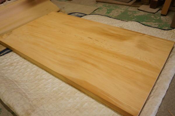 桧の木一枚板