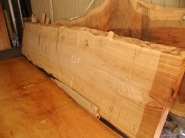 タモ天然木一枚板素材