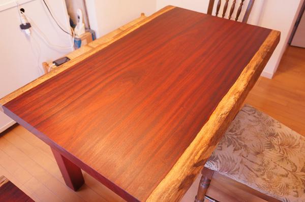パドック一枚板ダイニングテーブル
