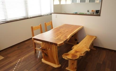 天然木ダイニングテーブルセット