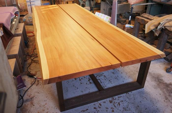 会議用一枚板テーブル