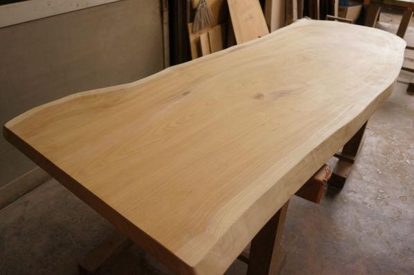 無垢一枚板テーブル天板