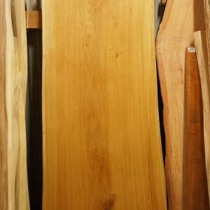 ナラテーブル天板一枚板