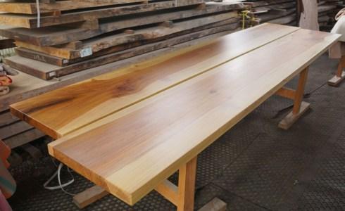 無垢の木一枚板加工