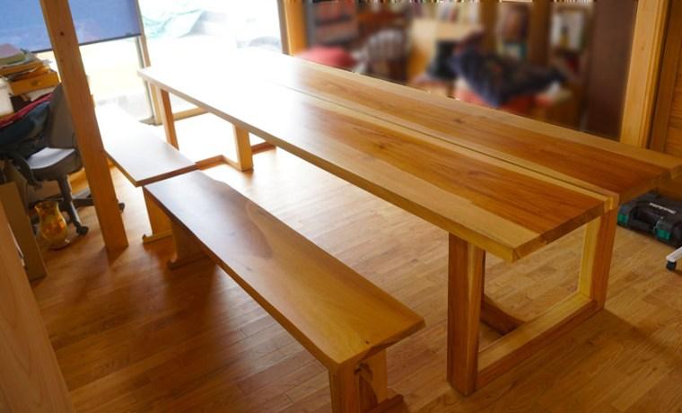 一枚板会議テーブル