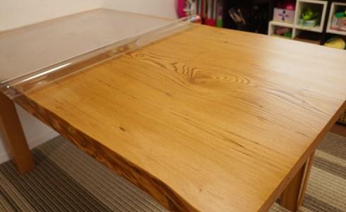 一枚板用テーブルクロス