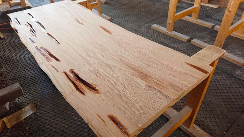 屋久杉テーブル天板