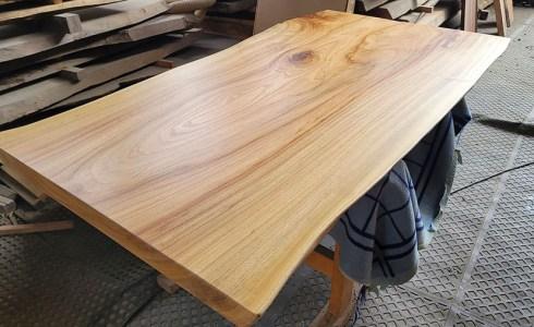 くすのき一枚板テーブル天板