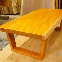 無垢一枚板ローテーブル