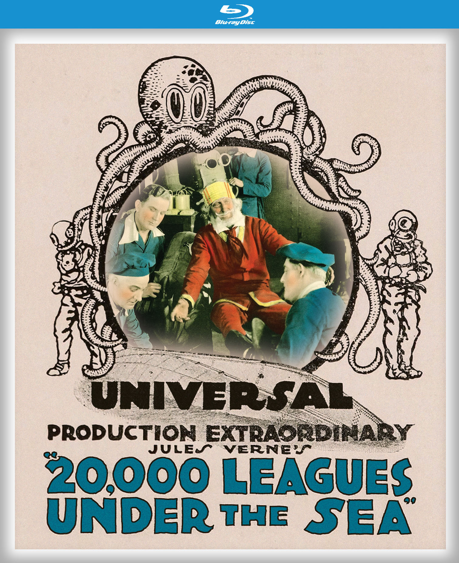 20 000 Leagues Under The Sea Blu Ray
