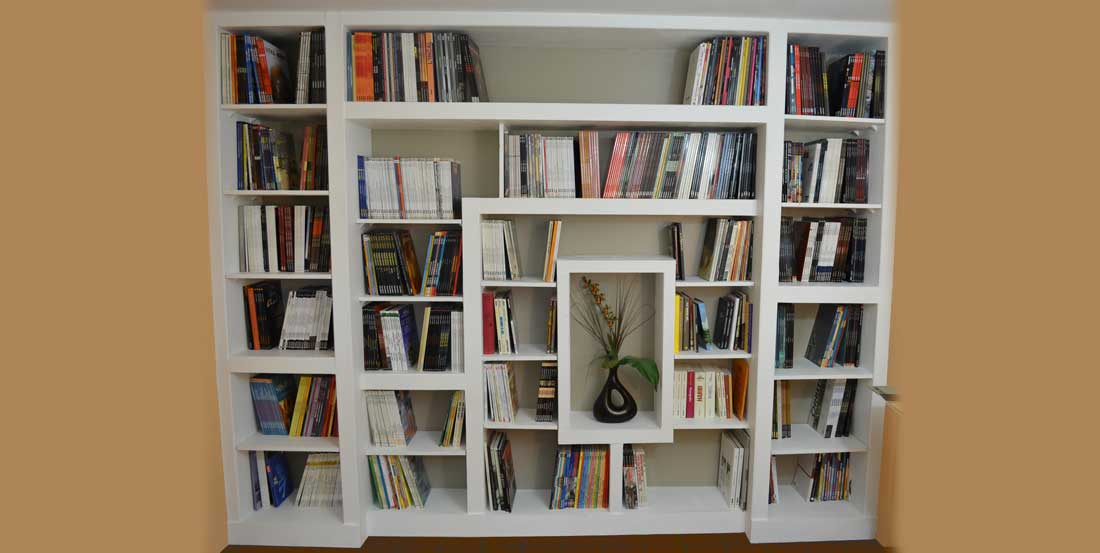 How To Build A Custom Bookcase