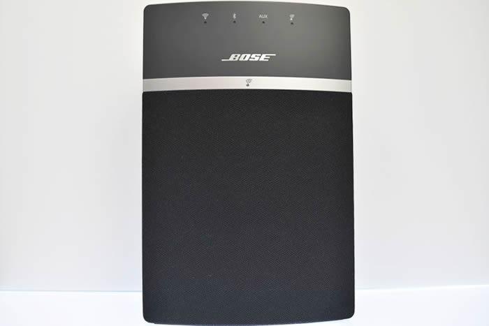 Bose soundtouch10のボディを正面から撮影