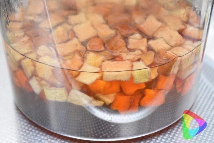 根菜とりんごの酵素ドリンク