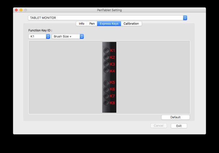 XP-PEN液晶タブレット