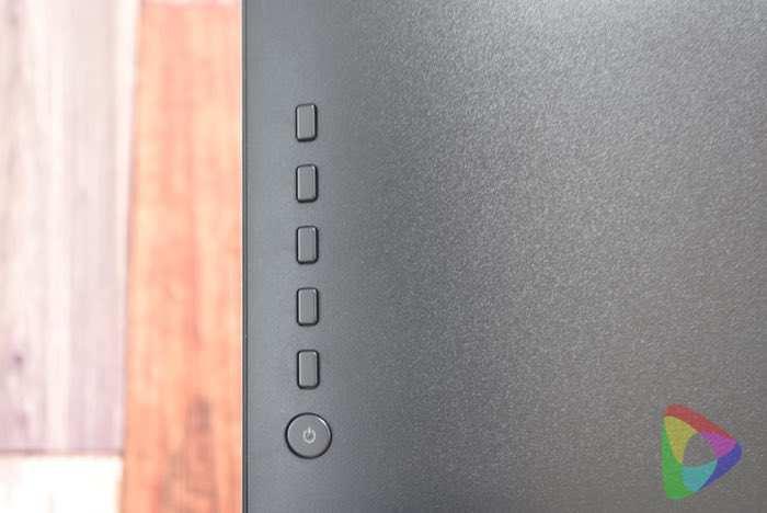 ViewSonic「VP2468」のメニューボタン