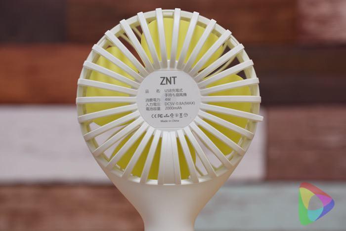 ZNT携帯・USB扇風機
