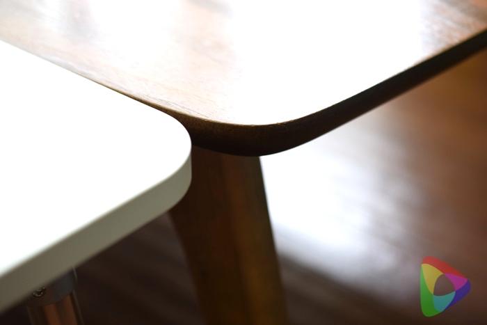 テーブルの高さを合わせる