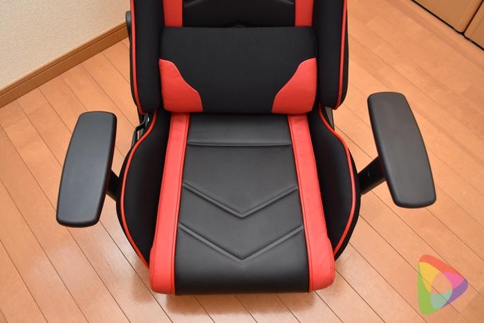 ゲーミング座椅子「150-SNCF005」のクッション