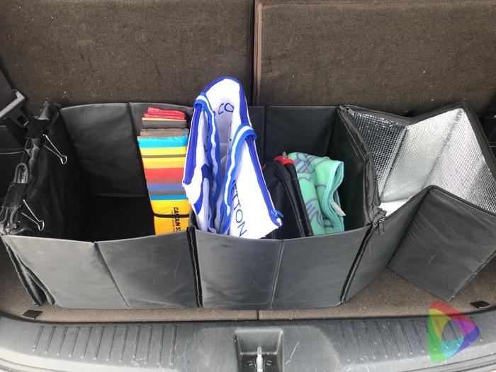 トランク収納ボックス