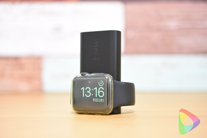 BOOST↑CHARGE™ Apple Watch用モバイルバッテリー