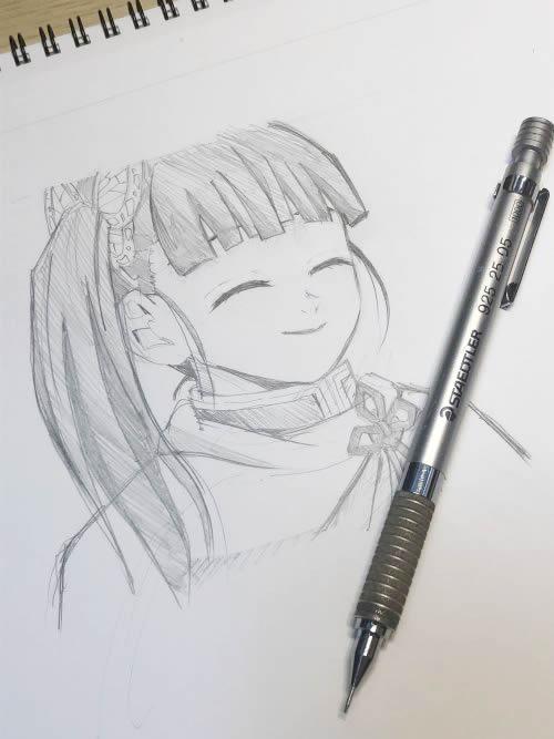 栗花落カナヲ イラスト・絵