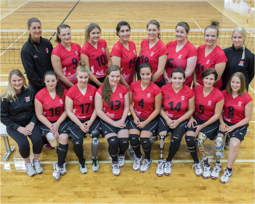 Canadian Sitting Volleyball Team