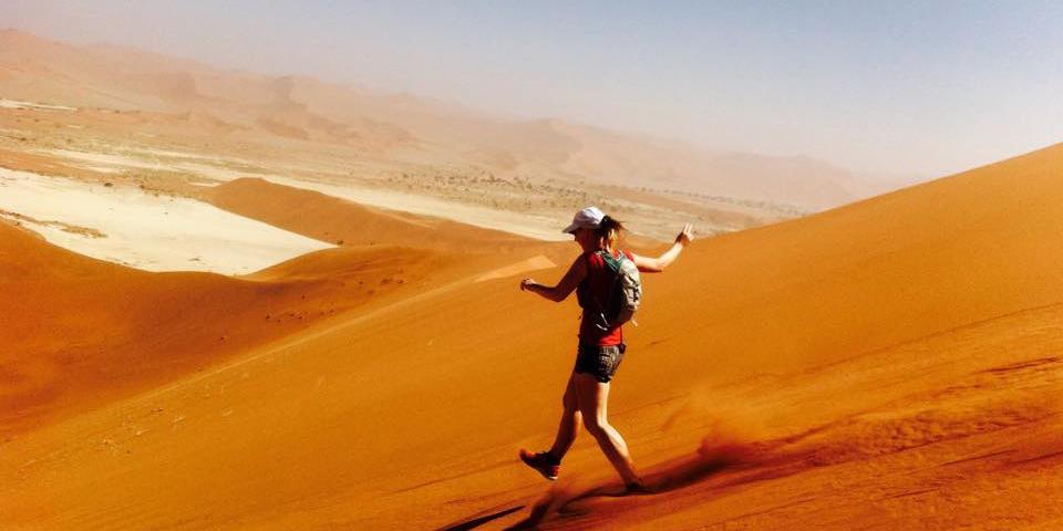 Namib-Naukluft Desert in Namibia