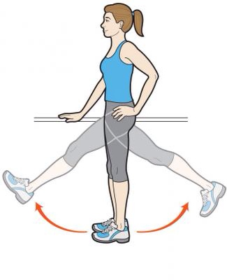 Forward and Back leg swings