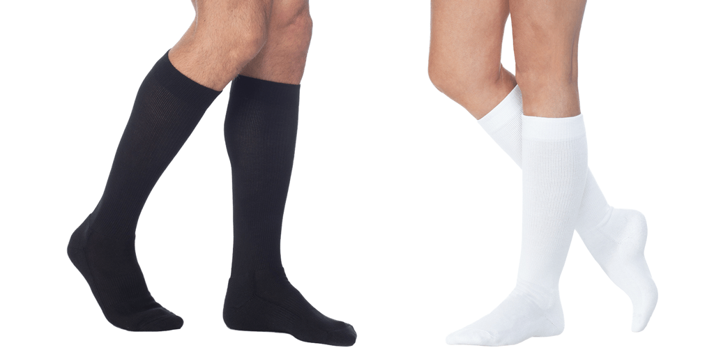 "If you're wondering ""Which compression socks should I wear?"", here are medical-grade compression sock styles."
