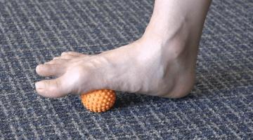plantar fasciitis massage