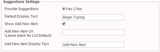SharePoint Forms w/ Auto Suggestion Fields