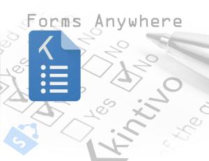 Kintivo Forms Anywhere - Forms Virtually Anywhere