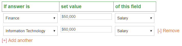 Kintivo Forms Anywhere for SharePoint Online - Enhanced Form Logic Value Logic