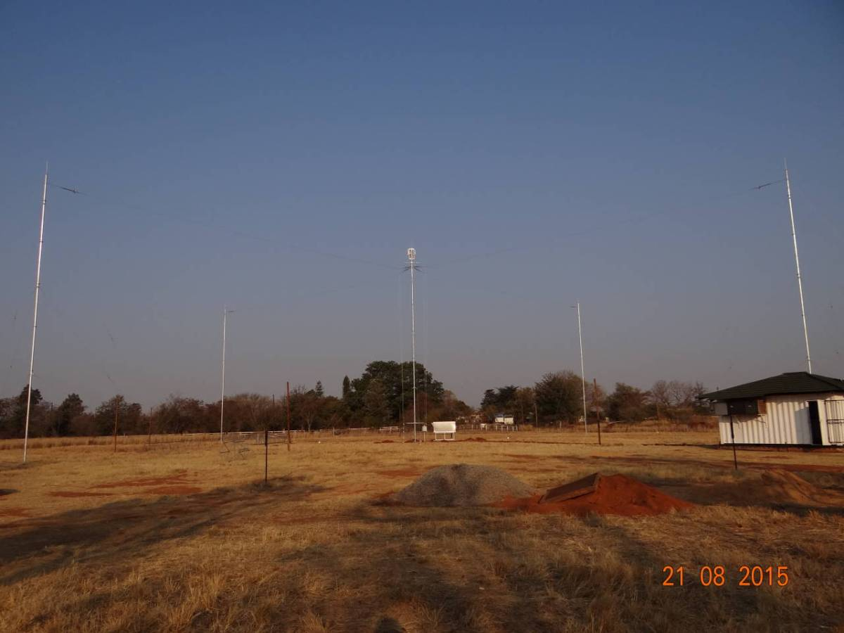 Highest-power, 25 kW Kinstar antenna installed for Radio Pulpit in South Africa, for DRM 30 tests