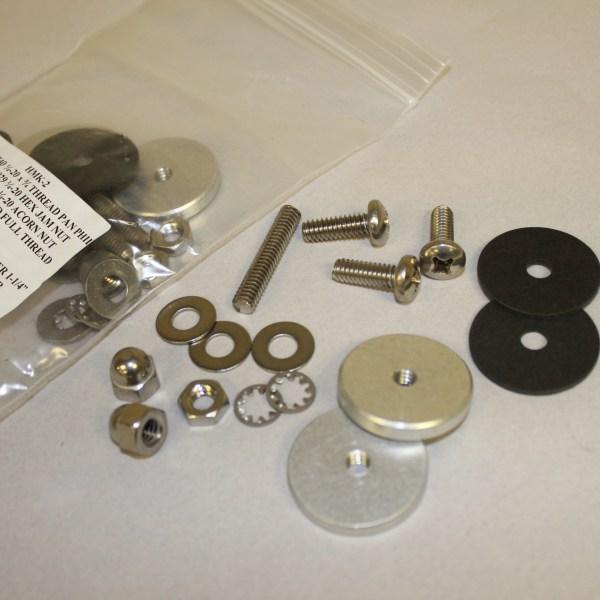 Vacuum Capacitor Hardware Mounting Kit HMK-2