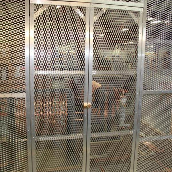 Aluminum Mesh RF Screen in Antenna Tuning Building