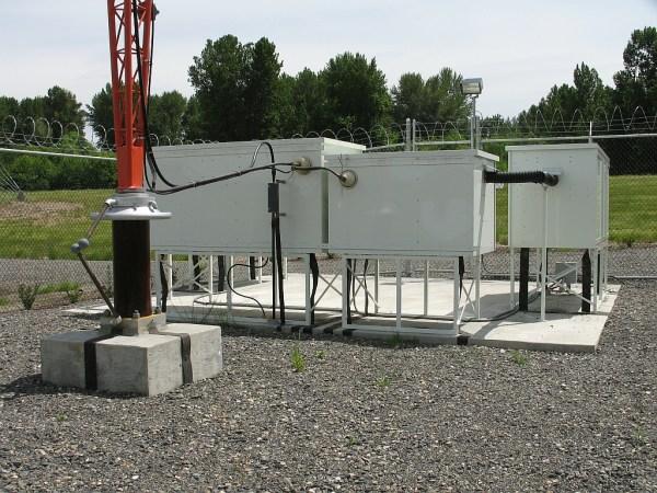 2 station diplexed ATU cabinets