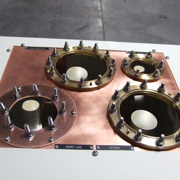 Main Aux Dummy Switch EIA Flanges