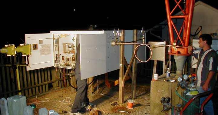 WGBR WFMC Diplexer Installation