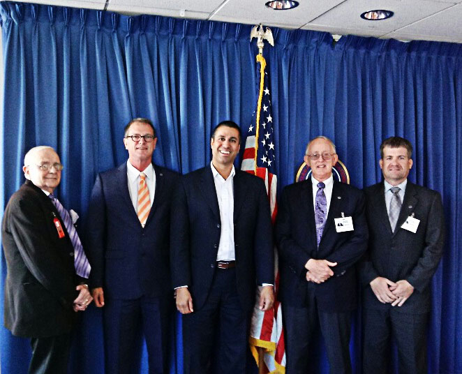President Tom King Participates in AFCCE Presentation to FCC Chairman Ajit Pai