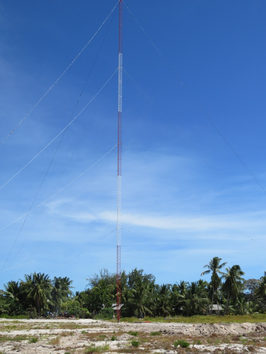 Radio Kiribati - New Tower