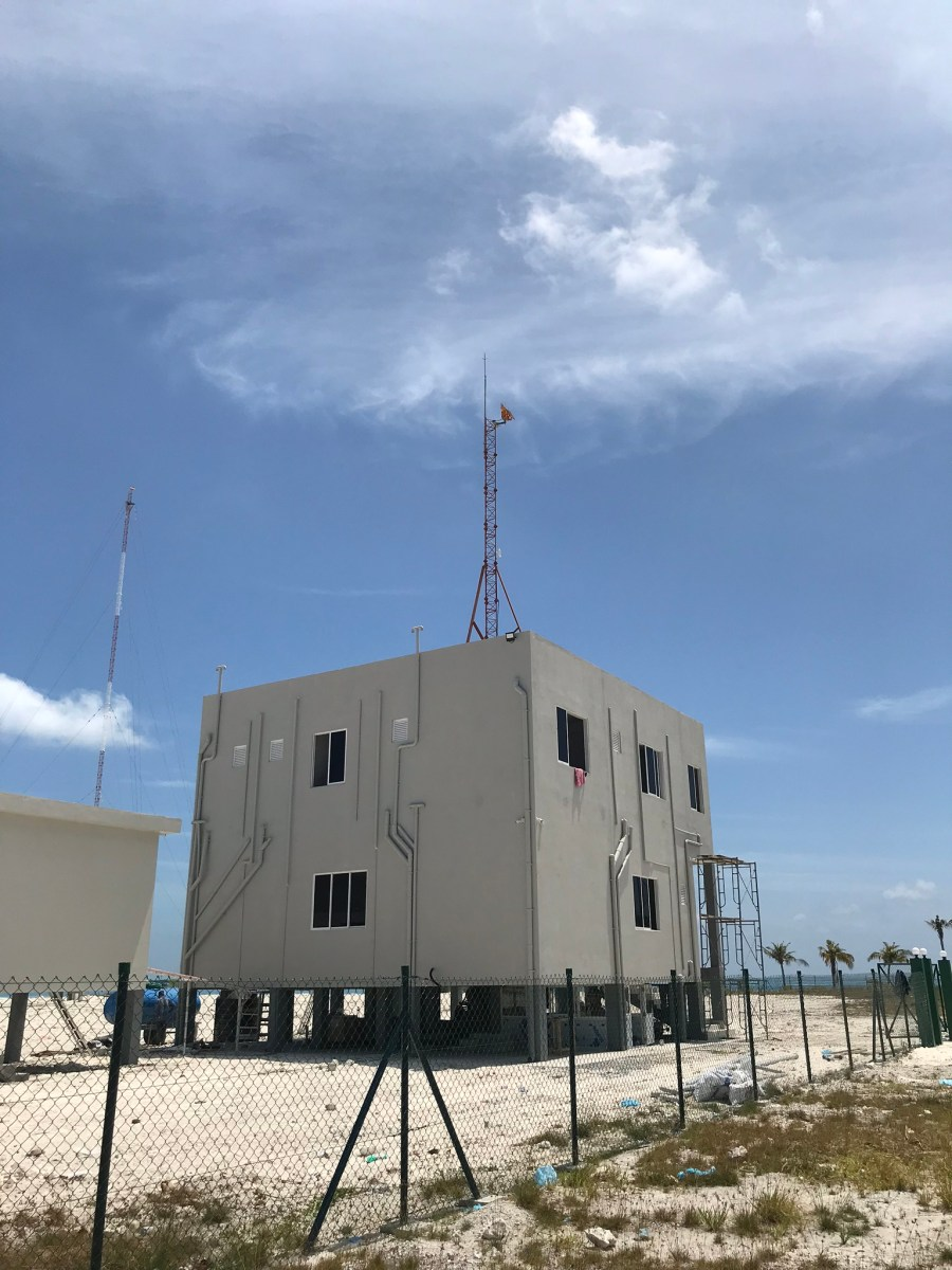 Thilafushi - New Transmitter Building