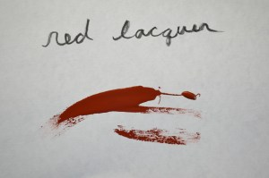 Red lacquer (2)
