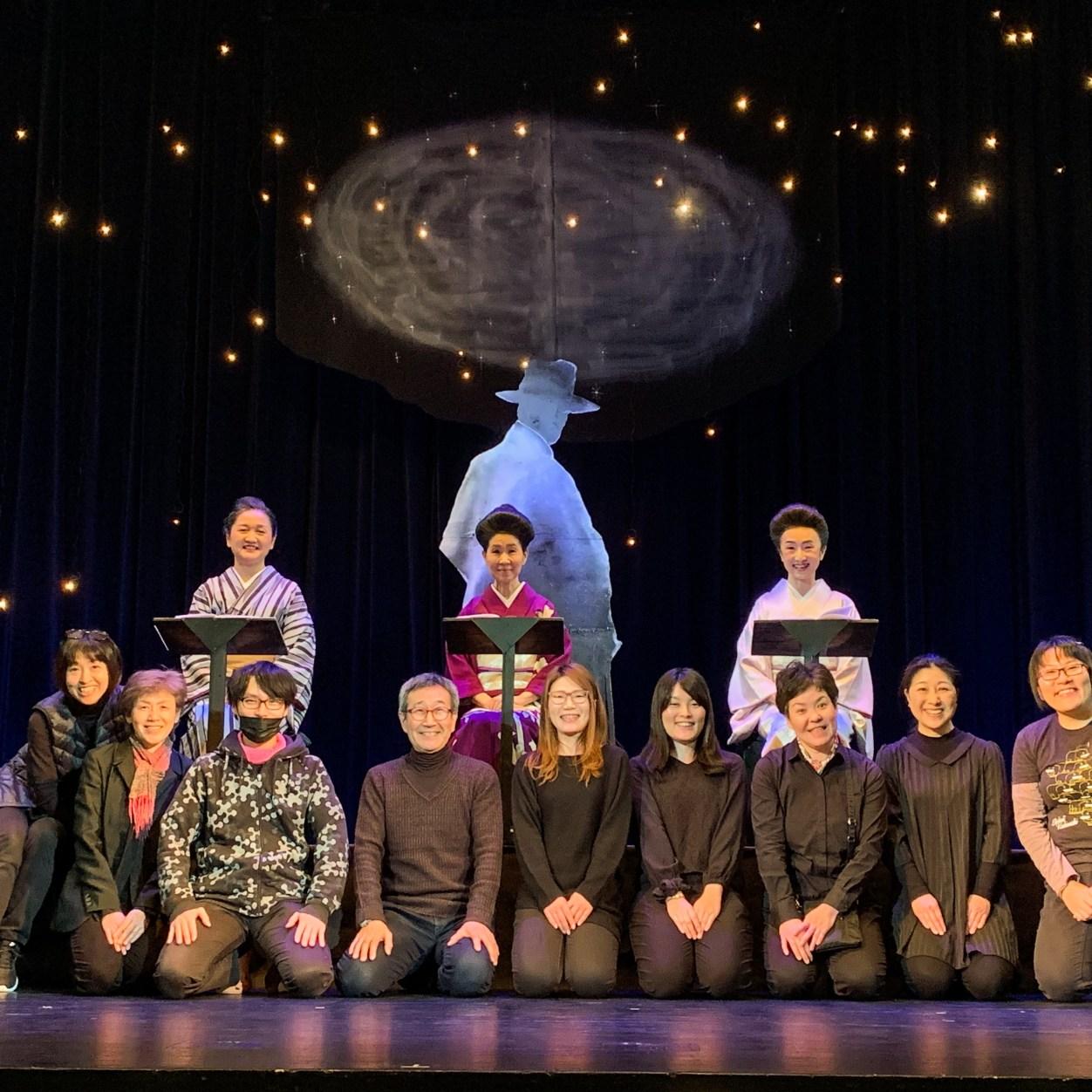 話芸集団ぶれさんぽうず 秋の公演 「星の子、鉄幹」