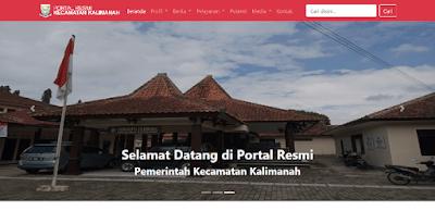 Source Code Portal Informasi Kecamatan Berbasis Wrb dengan CI
