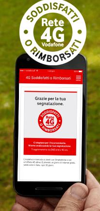 Soddisfatti o Rimborsati di Vodafone