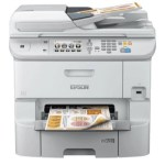 STAMPANTE EPSON MFC INK WORKFORCE PRO WF-6590DWF C11CD49301 4IN1 A4 34PPM F/R 500FG LCD USB LAN WIFI